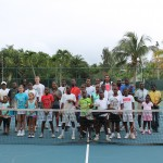 Tennis Clinic Dec 13, 2014 with Dustin Brown